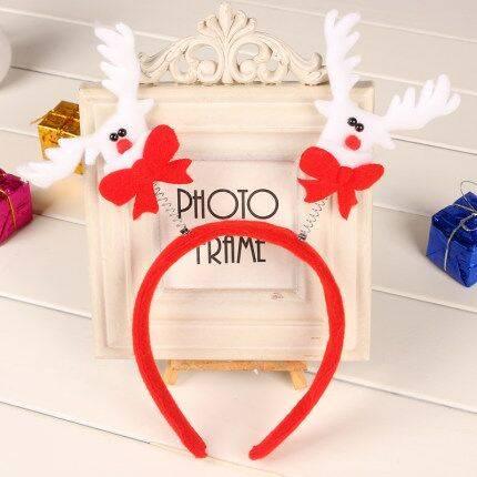 圣诞节平安夜头饰发箍装饰品