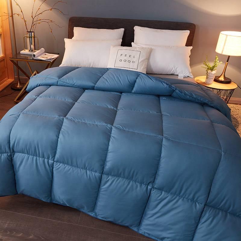 直销羽绒被子冬季被芯95白鹅绒加厚保暖被酒店单双人宿舍春秋冬被