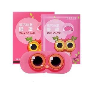 正茂本草蒸汽热敷眼罩缓解眼疲劳助睡眠一次性发热护眼贴10片装