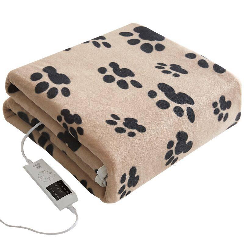 彩阳电热毯双人双控调温安全辐射无三人家用加大单人1.5米电褥子