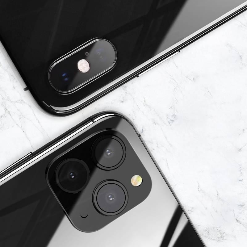 苹果x变11摄像头xr改11pro镜头贴iphone xsmax爆改秒变promax假贴