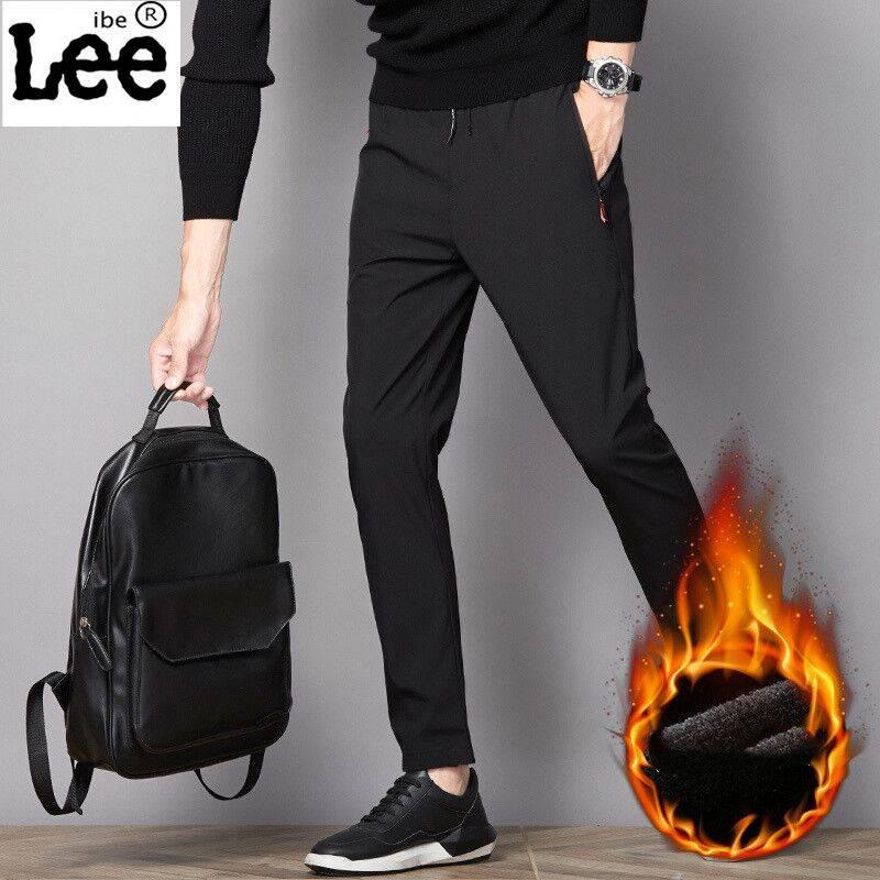 冬季加绒裤子男士运动裤宽松2019新款韩版潮流工装休闲长裤