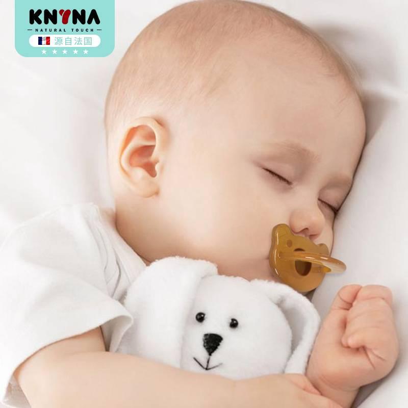 康因爱新生婴儿硅胶奶嘴安抚宝宝睡觉神器安睡型超软仿母乳防胀气