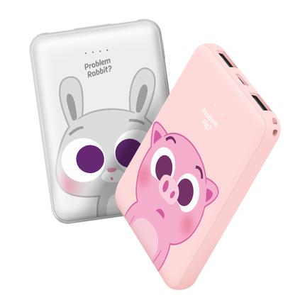 YLV小巧迷你便携充电宝创意超薄快充轻薄移动电源 学生小型可爱少女心大容量VIVO苹果oppo小米华为手机通用