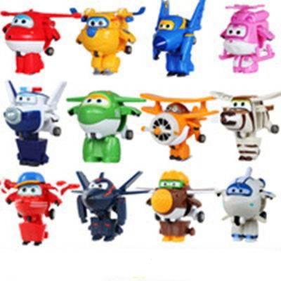 送口哨+贴画】儿童飞侠玩具套装变形玩具大号超级乐迪
