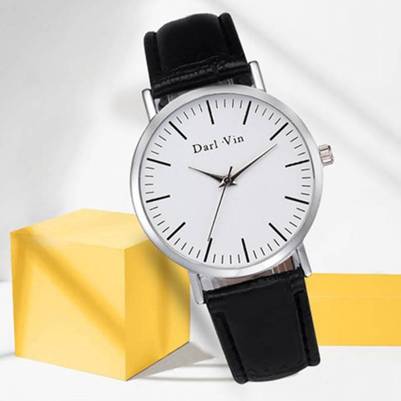 名蔻MICOCOA手表男表女表情侣表学生表时尚商务腕表防水石英手表