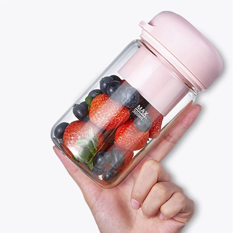 欧觅榨汁机家用便携式水果学生宿舍小型充电动迷你榨汁杯炸果汁机