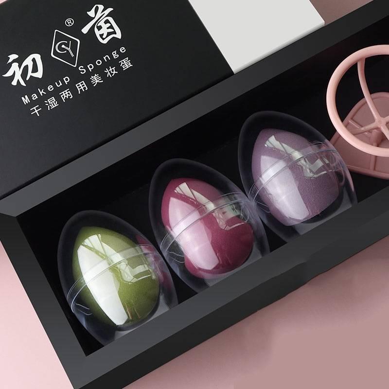 美妝蛋不吃粉化妝蛋干濕兩用彩妝蛋超軟粉撲海綿rt美妝蛋化妝工具