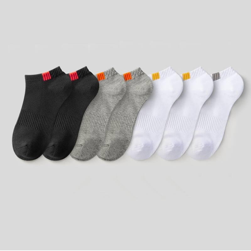 袜子男士纯棉中筒男袜秋冬季防臭吸汗运动全棉加厚长袜100%棉袜潮