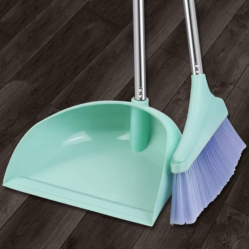 扫把簸箕套装组合家用鬃毛扫地笤帚不粘头发神器魔术捎把扫帚单个