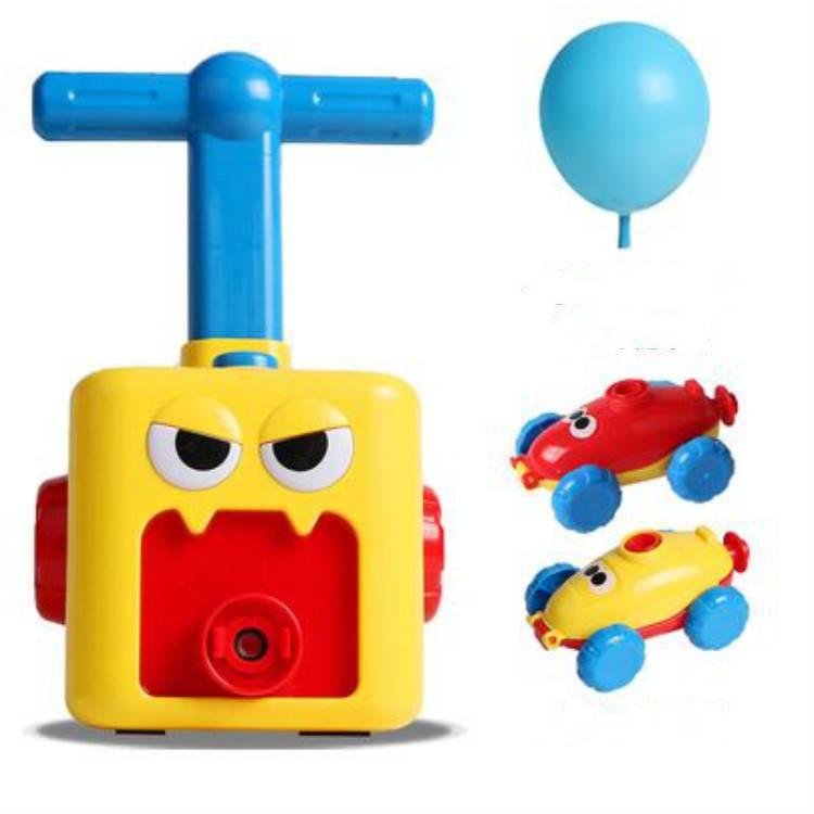 空气动力气球车玩具 儿童滑行小汽车 趣味男孩益智幼儿园生日礼品