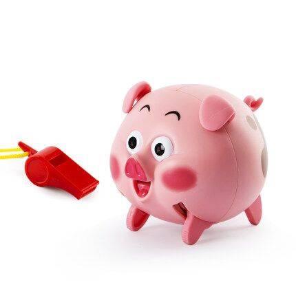 声控吹口哨猪会跑跳的小猪抖音同款儿童电动网红跳舞感应玩具男女