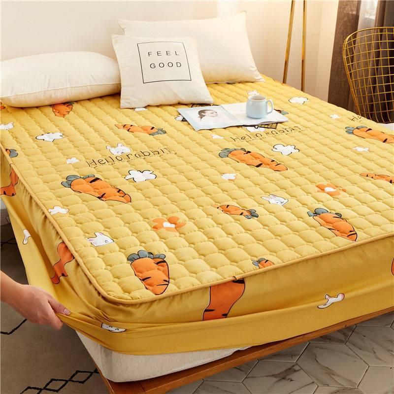 【防滑床笠】床笠夹棉加厚床罩单件床垫套席梦思保护套床套床单罩