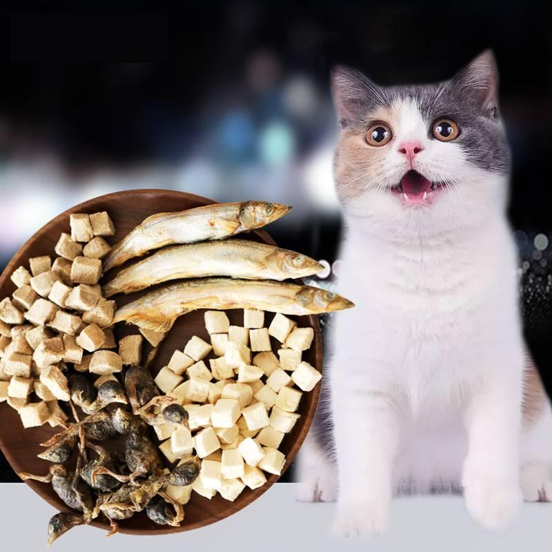宠物肉类冻干零食猫狗粮营养多春鱼增肥营养补钙无盐猫粮