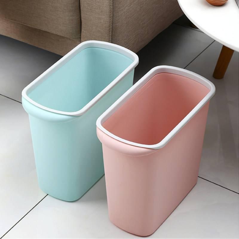 家用带盖分类垃圾桶客厅卧室厨房有盖卫生间大小号厕所创意拉圾桶