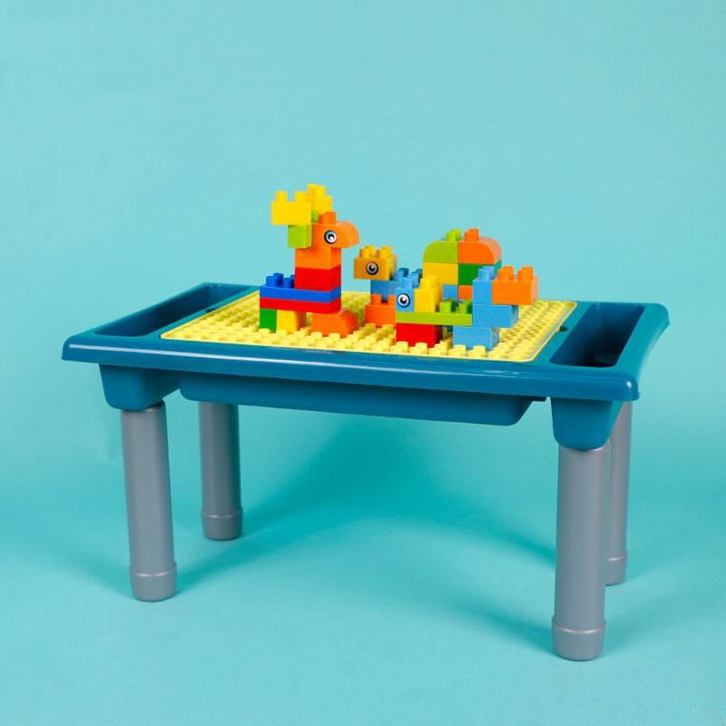积木桌子儿童玩具男女孩益智1-2周岁小孩2-3岁智力拼装动脑多功能