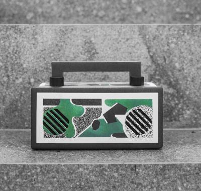 【正常发货】音乐画布MINI蓝牙音箱迷低音炮纸盒生日礼物女生音响