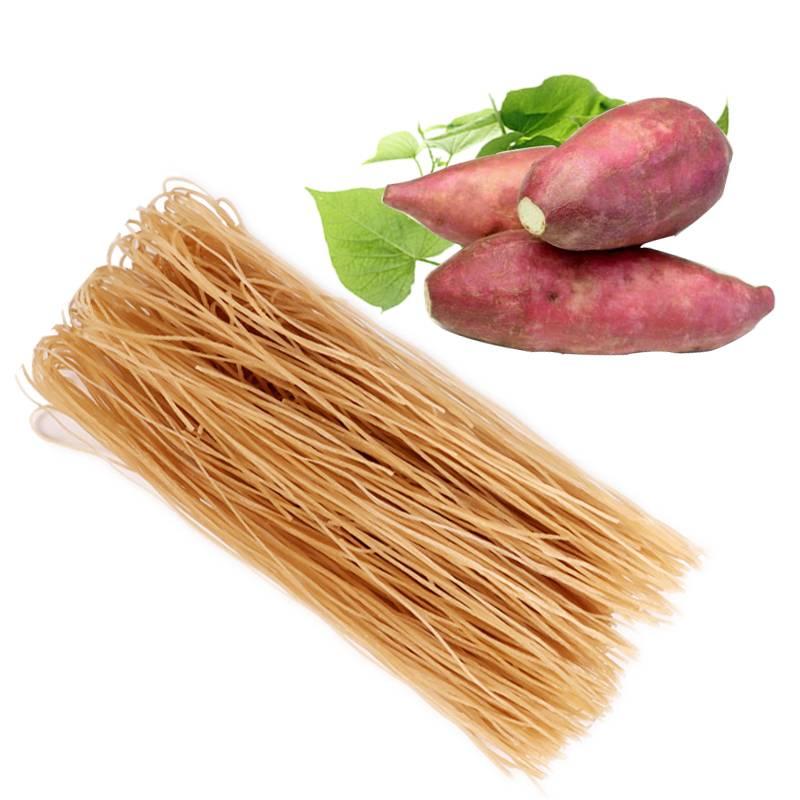 粉条红薯粉正宗纯手工山东特产农家地瓜红苕番薯粉细粉条批发5斤