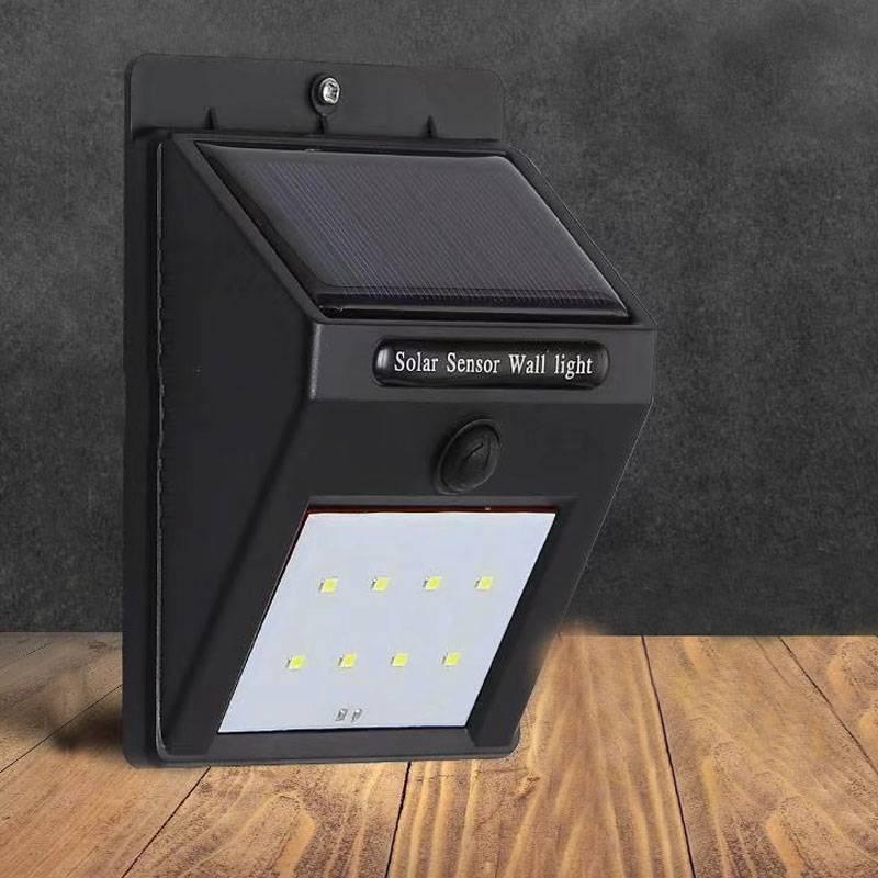 太阳能灯户外防水庭院灯led大功率新农村家用照明路灯人体感应灯