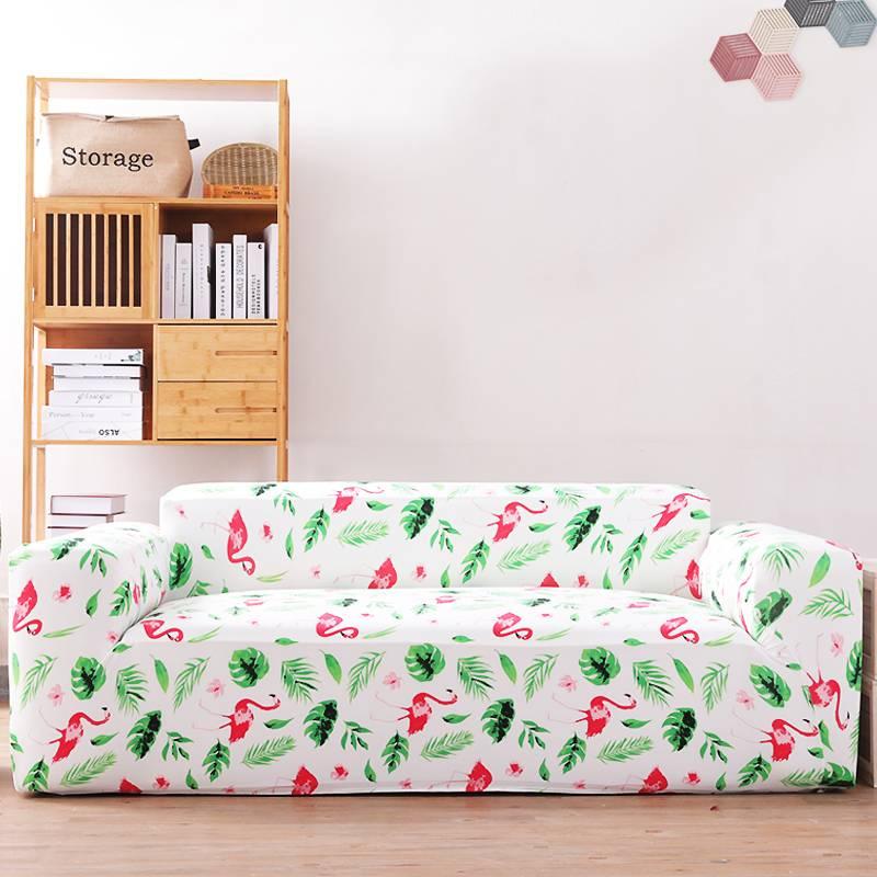 高弹力沙发套罩全包万能套防滑四季沙发垫北欧布艺组合型沙发盖布