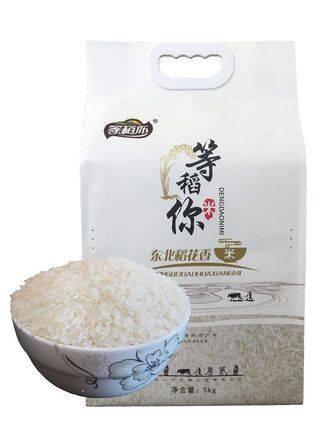东北大米2019新米5kg10斤稻花香大米2号香米粳米吉林鸭田非五常