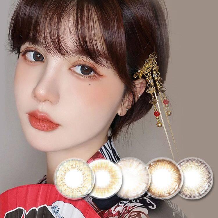 美瞳日抛小直径10片装一次性隐形眼镜女自然正品大牌官网韩国代购