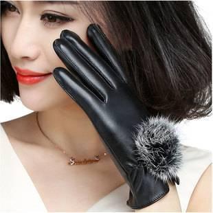 超低价~触屏男女款加绒手套