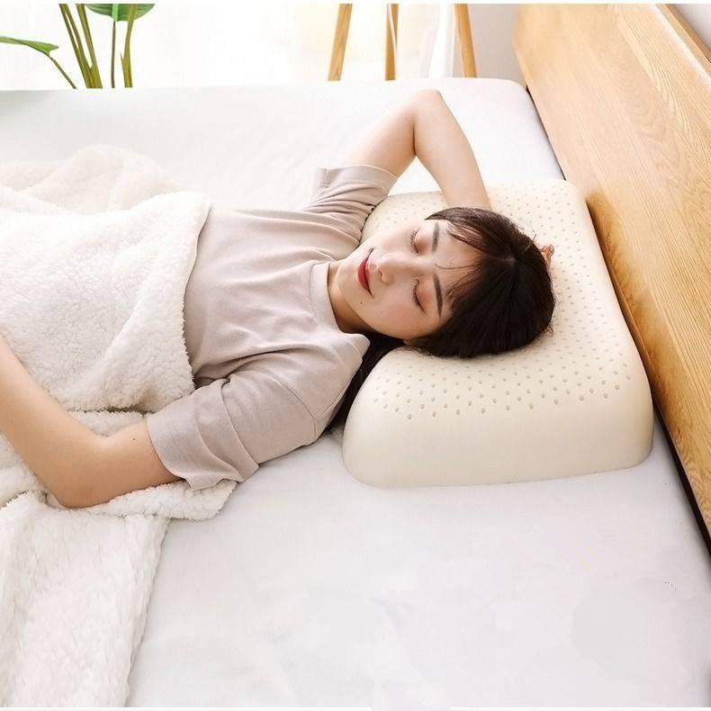 南极人正品泰国天然乳胶枕头单人枕芯护颈椎枕成人家用颈椎记忆枕