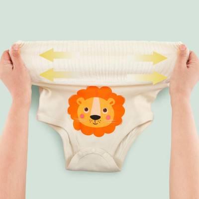 【顺丰包邮】宝宝护肚裤纯棉裤2条