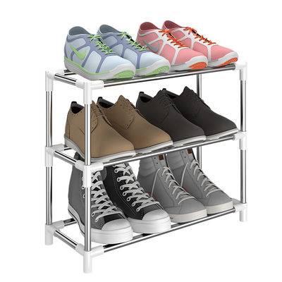 【带拉链】简易多层鞋架宿舍家用防尘布鞋柜门口组装鞋架收纳柜