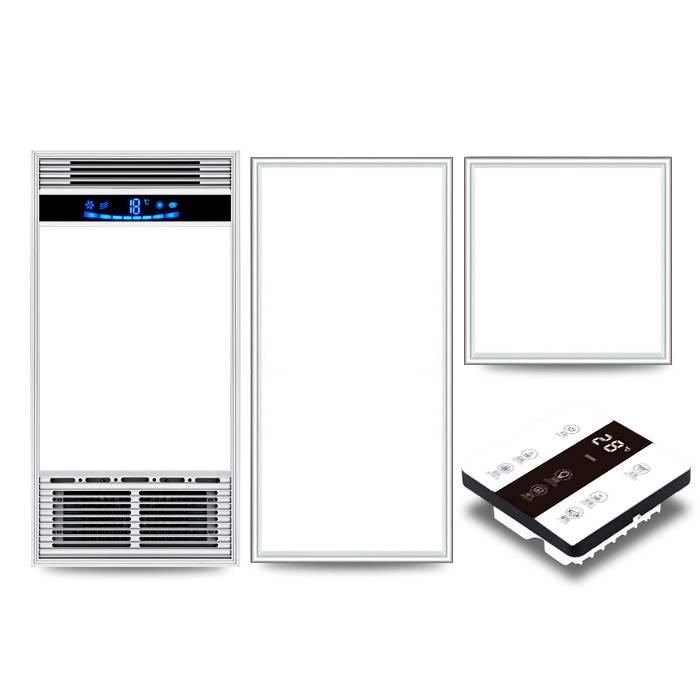五合一卫生间风暖浴霸灯led排气扇照明一体 集成吊顶浴室取暖风机