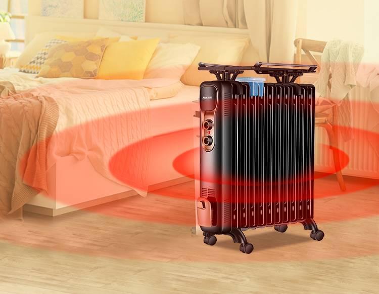 奧克斯油汀取暖器電暖風機暖器電熱油丁片省電靜音節能電暖氣家用