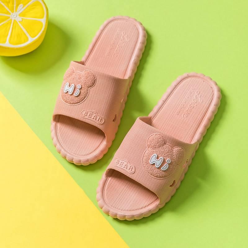 拖鞋女夏季室内情侣家用可爱防滑家居防臭浴室洗澡凉拖鞋夏天男士