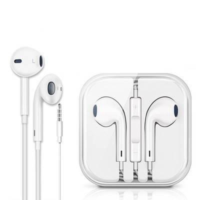 入耳式耳机手机通用环绕立体声耳塞式线控带麦有线耳塞式通用