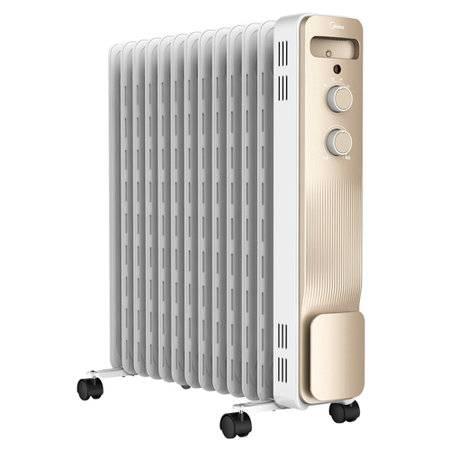 美的电暖气油汀取暖器家用节能省电速热升温大面积13片油酊暖风机