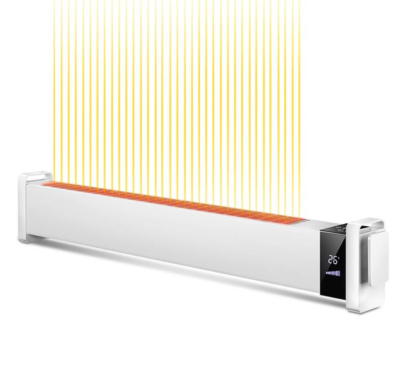 长虹踢脚线取暖器电暖气家用浴室节能省电高热对流式暖风机电暖器