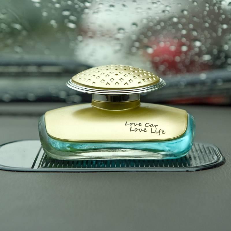 汽车香水座车用香水除异味车载车内香水座式 汽车用品摆件装饰品