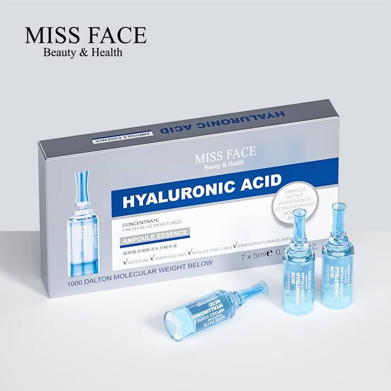 Miss face玻尿酸面部精华推杆安瓶补水保湿