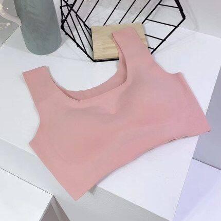 日本班诗诺打造双面德绒发热内衣超柔婴儿绒文胸女无钢圈运功胸罩