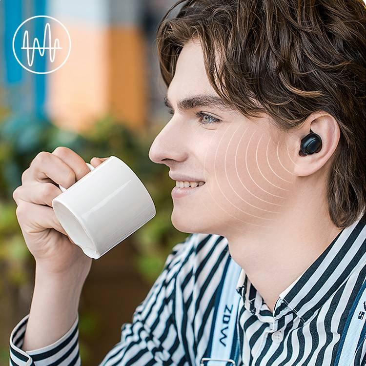 havit/海威特真无线蓝牙耳单挂入耳式运动隐形迷你适用vivoppo华为苹果安卓通用小米荣耀一加iPhone8可爱无限