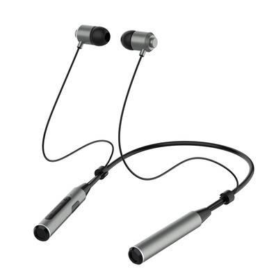 运动无线蓝牙耳机颈挂脖式双耳吸磁入耳式跑步超长续航男女通用