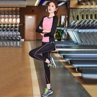 运动健身休闲套装秋冬长袖长裤瑜伽