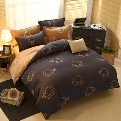 【已验货】全棉ins风四件套秋冬加厚单双人被套床单人床上用品