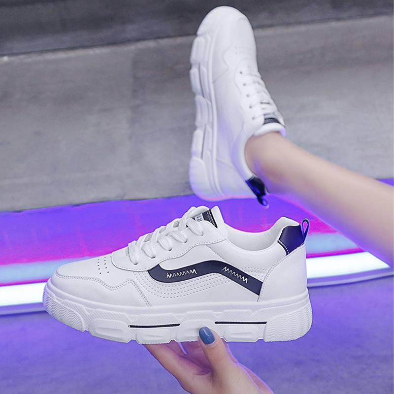 2020春季新款欧洲站日系小白鞋女港风chic板鞋ins街拍潮鞋老爹鞋