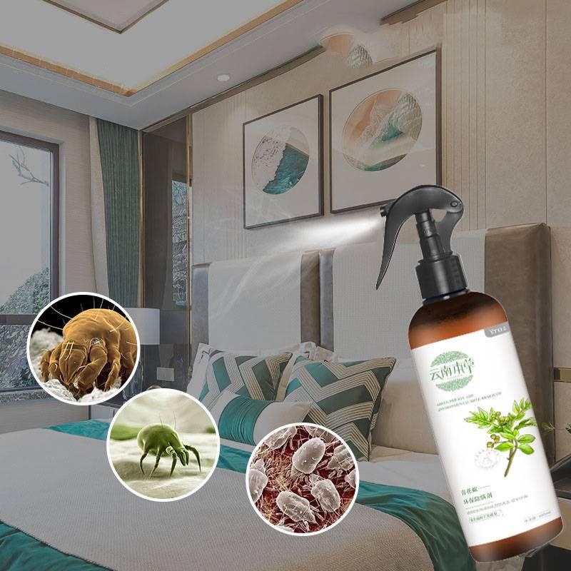 云南本草青花椒除螨喷雾剂床上去螨虫神器孕婴可用免洗杀螨虫喷雾