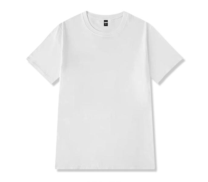 男士短袖t恤新款纯棉修身白色大码男装体恤半袖衣服打底衫内搭潮
