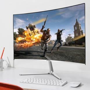超薄曲面高清电脑显示器台式电脑屏