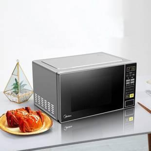 美的微波炉智能平板式微蒸烤一体机