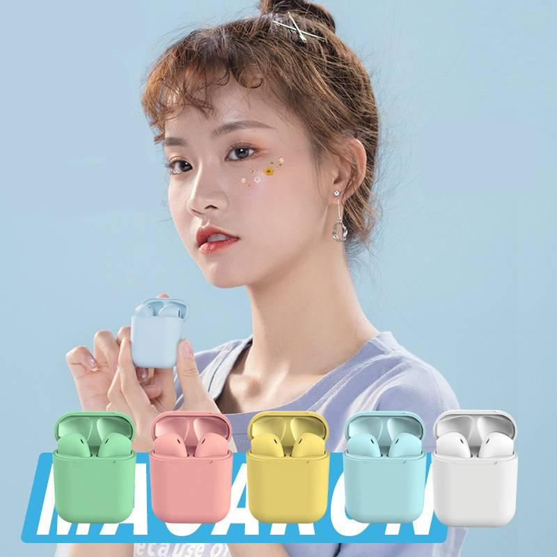 【正常发货】马卡龙无线蓝牙耳机安卓通用适用华为苹果vivo小米op