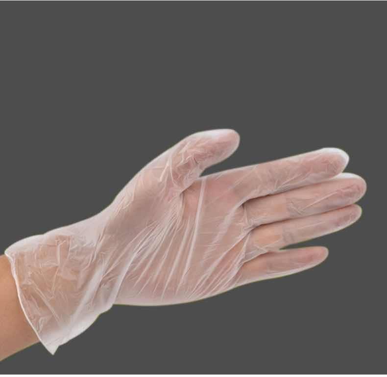 一次性医用PVC防护乳胶消毒无菌手套耐磨加厚食品级防水医生专用